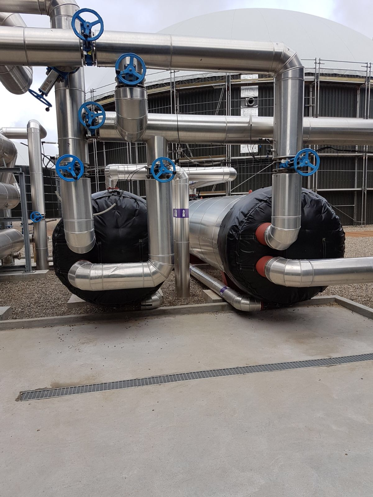 Biogasanlage Dänemark