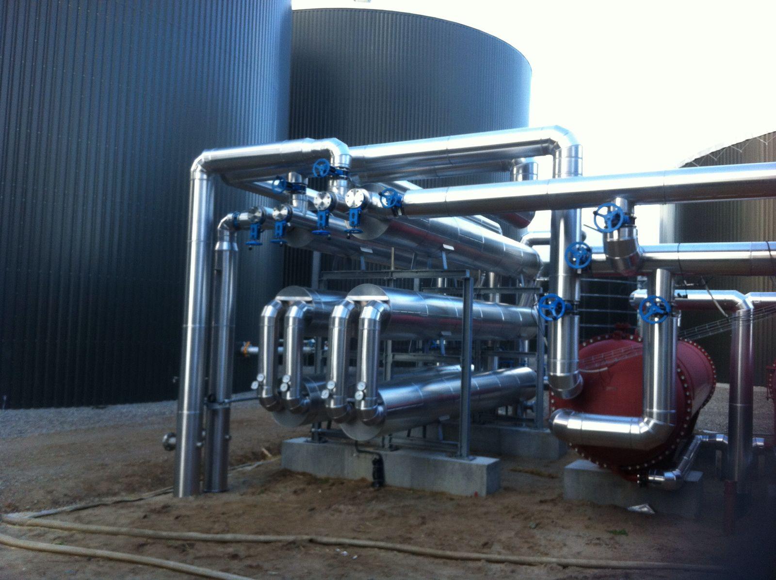 Biogasanlage in Dänemark